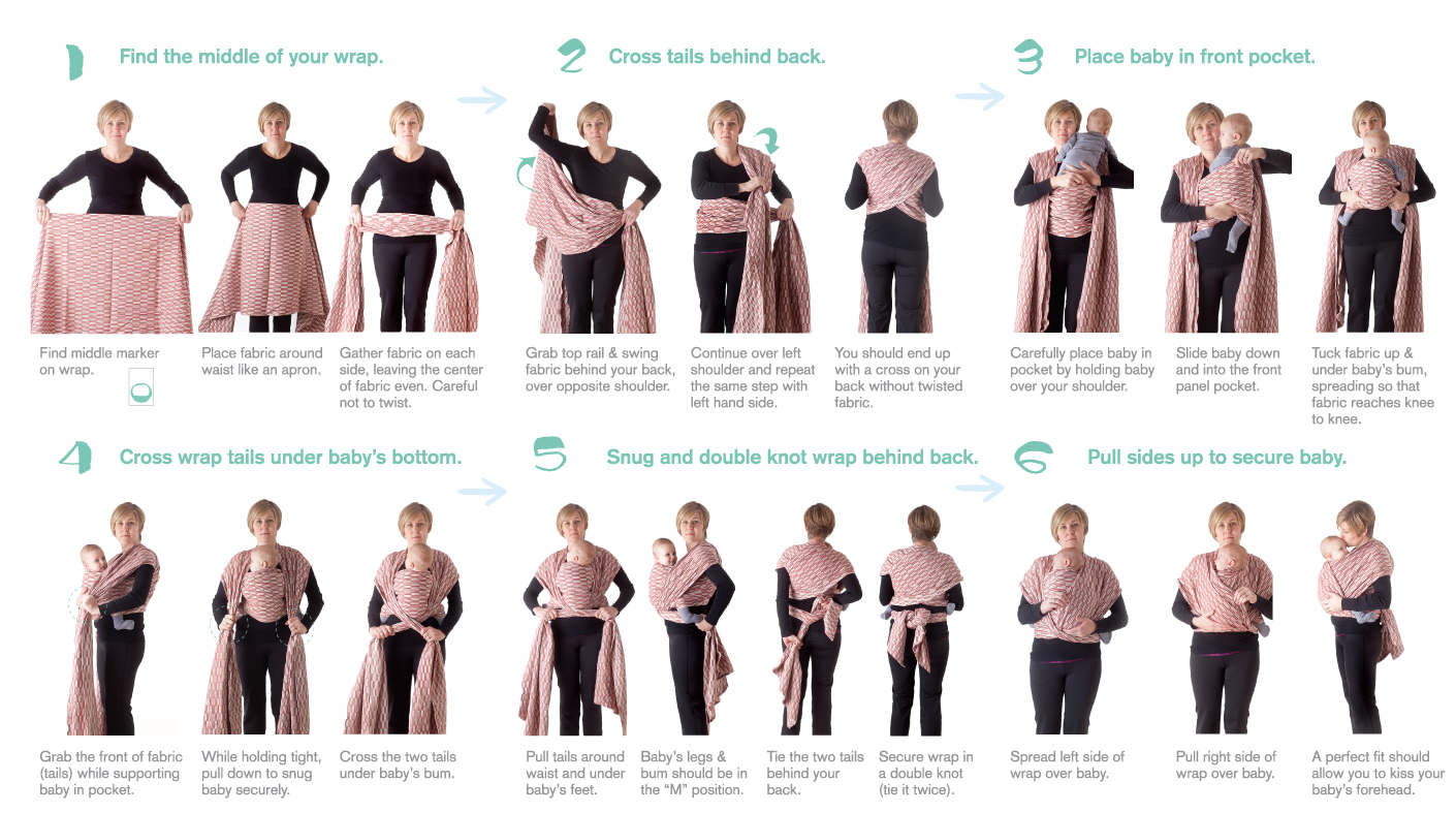 Buy How To Wear A Baby Wrap